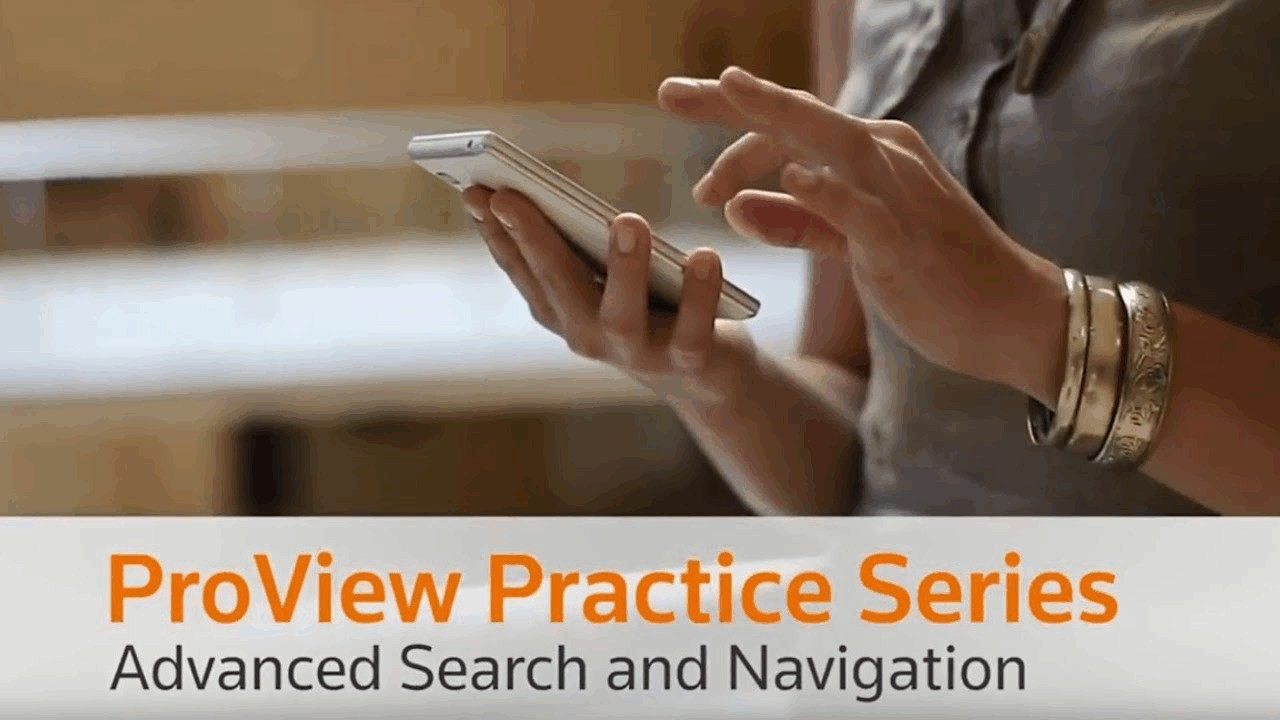 ProView Practice Series - Advanced Search